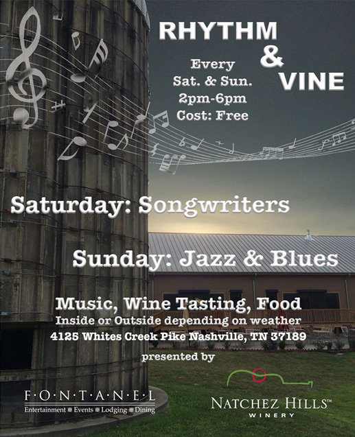 Natchez Hills Music and Wine - Rhythm and Vine